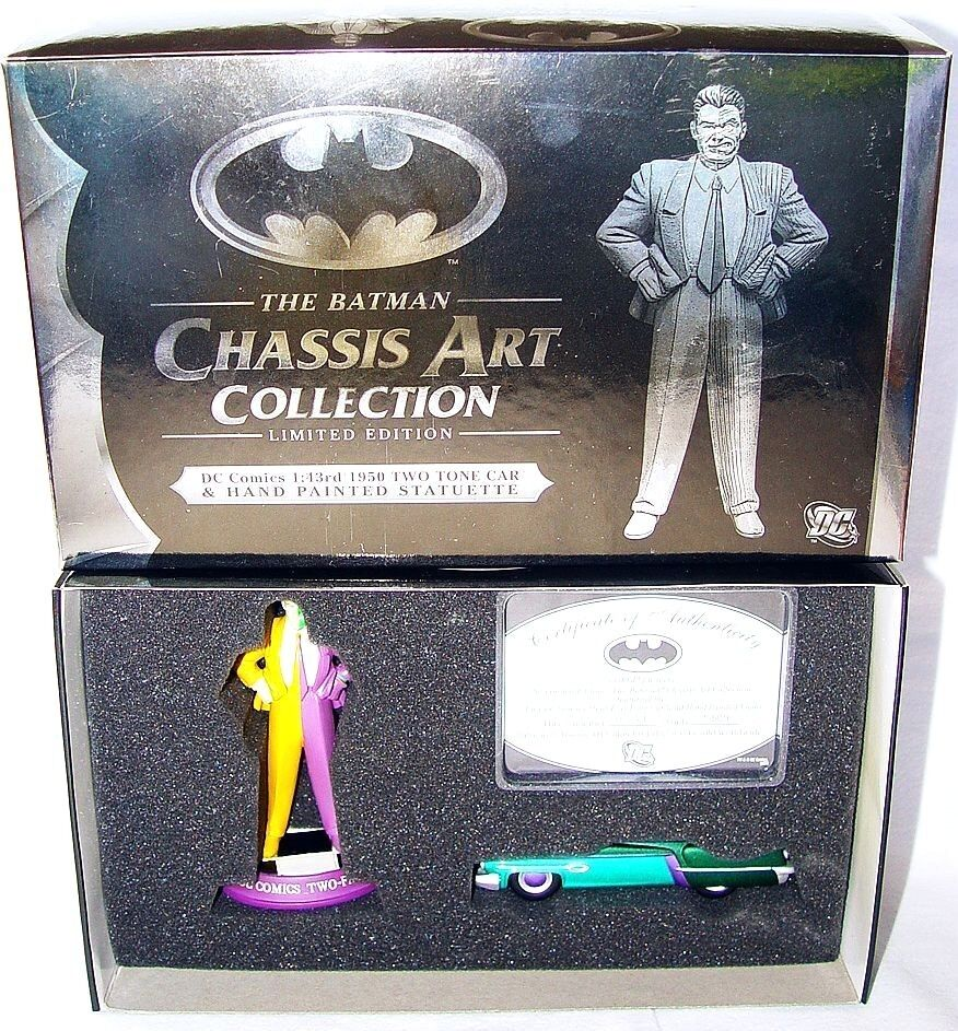 Corgi 1 43 dc comics der batman - kunstsammlung two - face + auto mib ` 07.