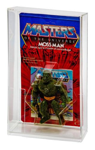 1 Case GW Acrylic MOC Carded vintage HE-MAN MOTU Action Figure Display Case