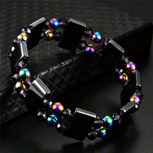 Magnetic Bracelet Weight loss Natural Beads Stone  Health Care Jewelry TW