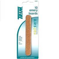 Trim Files Emery Board Standard File 12 Cards (10 Pcs Each Card) 62500