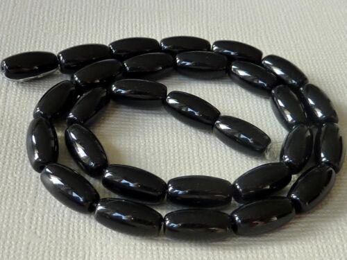 Vidrio Strang perla oval 12 x 6 mm 30 PCs selección elección de color 1378