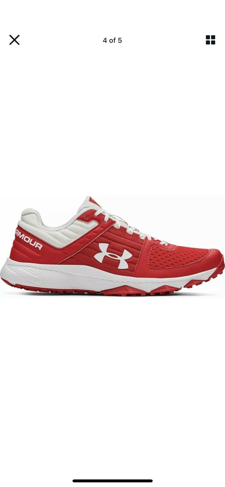 Under Armour Yard Faible Formateur Baseball Chaussure Homme 9 Blue Turf Cleat 3000356