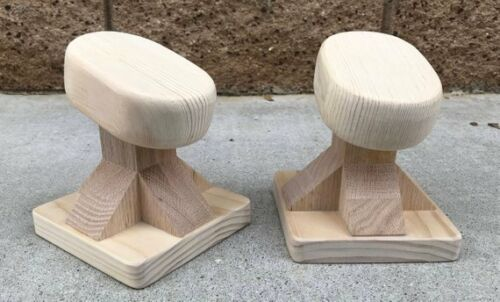 Natural DIY Gymnastics-Acro-Circus-Fitness-Yoga Travel-size Handstand-Blocks