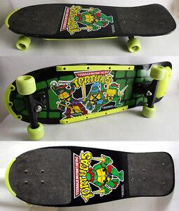 Ultra rare vintage 1990 tmnt ninja turtles wooden skate - Tortue ninja skateboard ...