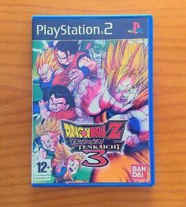 DRAGON BALL Z BUDOKAI TENKAICHI 3 - PS2 - PAL España    eBay