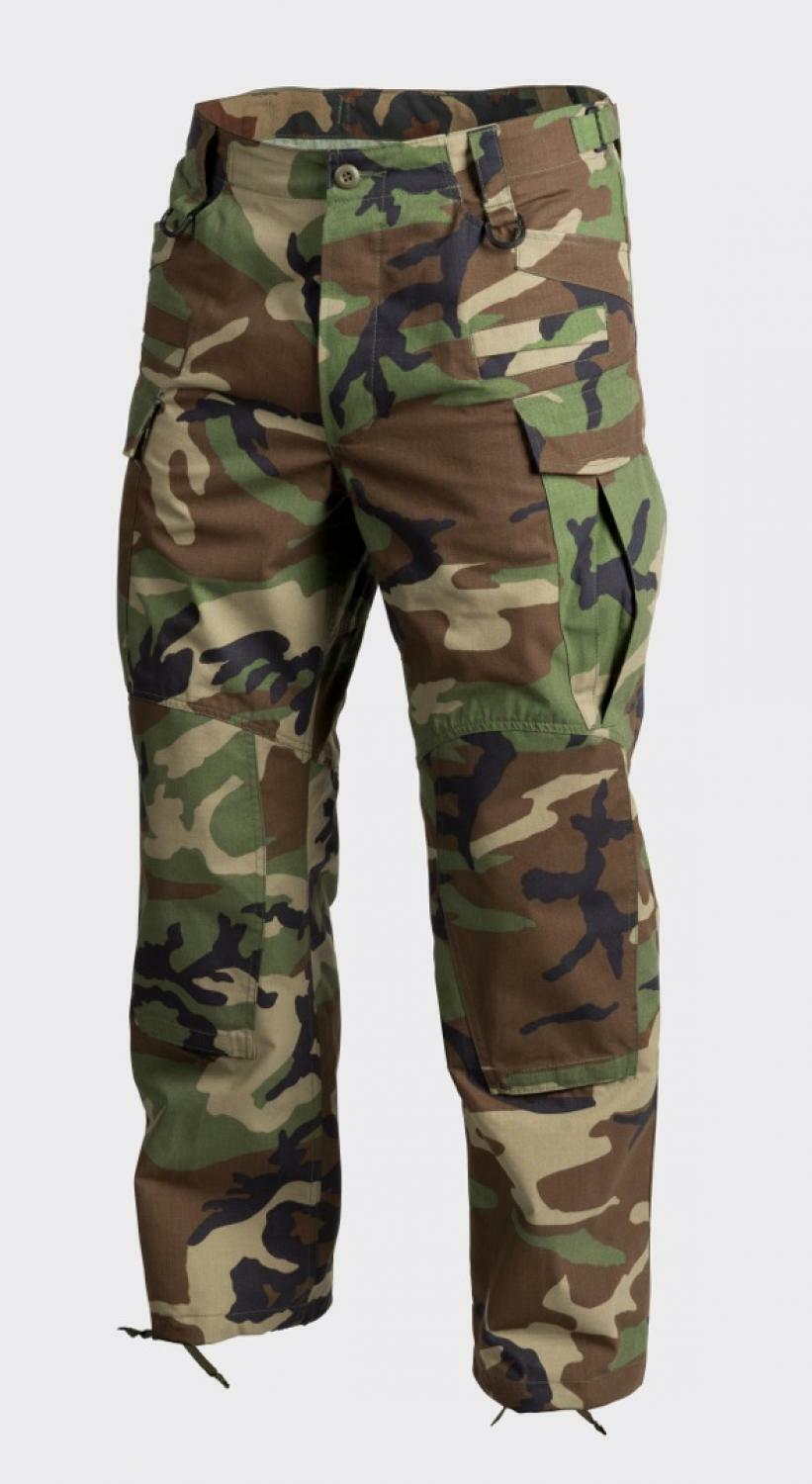 Helikon Tex Sfu next Tactical Outdoor Pants Army Woodland Camouflage Xlarge