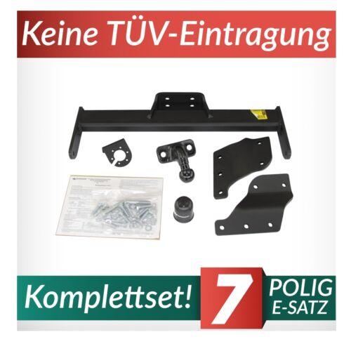 Für Ford Transit VII Kasten//Minibus 06-13 Kpl Anhängerkupplung starr+E-Satz 7p