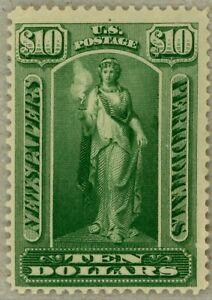 US-Scott-PR122-OG-1895-10-Newspaper-stamp-watermarked-sound