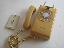 Vintage Stromberg Carlson Harvest Rotary Wall Telephone