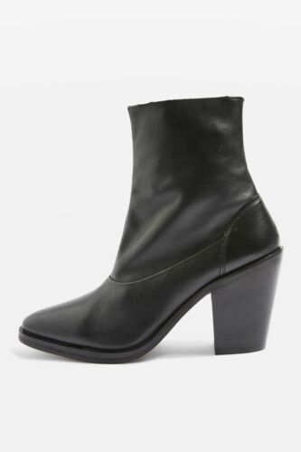 Us Black 'may2' Eu 7 Topshop 40 Uk 9 Boots Ankle Sock Leather 5 Zvfaqw1