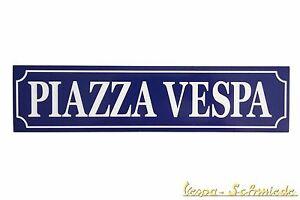 """Symbol Der Marke Aufkleber """"piazza Vespa"""" Aufkleber Automobilia V50 Pk Px Sprint Rally Gts Gl Gt Ts Auto Kfz Sticker Phantasie Farben"""