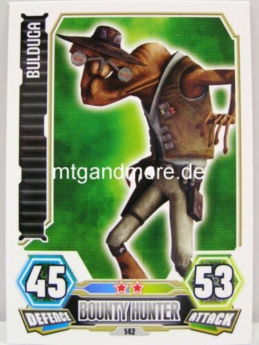 Force Attax série 3 Bulduga #142
