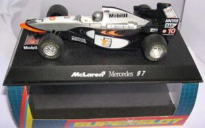Superslot C2124 Mclaren Mercedes Mp4 / 10 Ouest n ° 10 1997 Scalextric Ru Mb