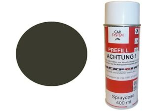 1x-Spray-Peinture-400ml-1K-Vernis-Voiture-lackpoint-Brillant-Ral-6006-Diluant