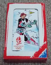 Albertville 92 Winter Olympics Jeu de 7 Familles Playing Card Game - Happy