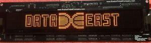 LED Dot Matrix Display DMD For Data East Pinball Machines 128x16 ORANGE