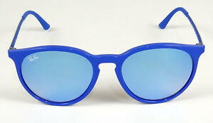 bfa963a8a59 NEW RAY-BAN HIGHSTREET ERIKA BLUE MIRROR ROUND PHANTOS SUNGLASSES ...