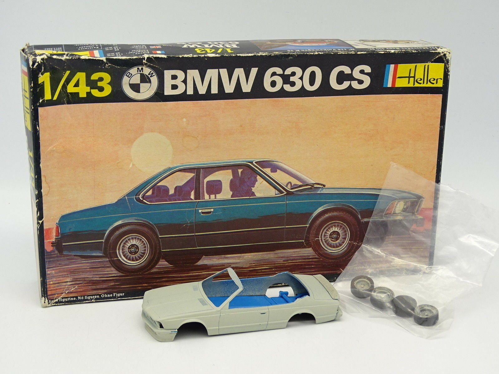Heller Kit to assemble 1 43 - BMW 630 CS Cabriolet