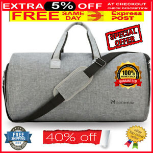 2 in 1 Convertible Travel Garment Bag Carry On Suit Cover Bag ... 63253d63da1f0