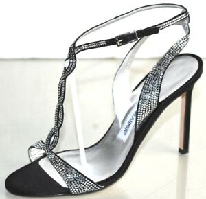 4f323544d0 Image is loading 1345-NEW-Manolo-Blahnik-Jeweled-Sandals-CRYSTALS-JEWELED-