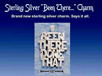 Sterling Silver Been There, Done That Pendant 1 Long Pi0878