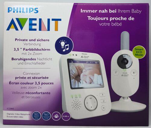 météo Gris-Neuf /& neuf dans sa boîte Distributeurs PHILIPS AVENT scd843//26 Vidéo babyphone