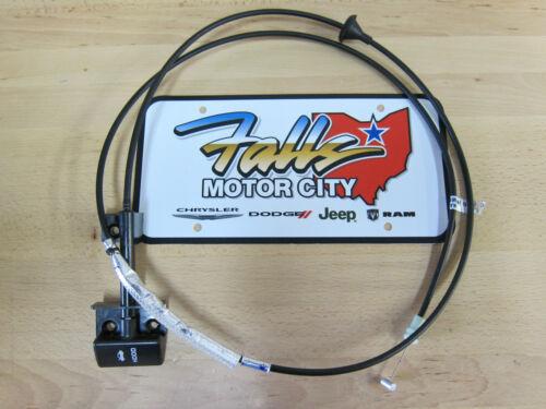 1997-2001 Jeep Cherokee XJ Sport Classic Limited Hood Release Cable Mopar OEM