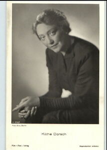 KATHE-DORSCH-Schauspielerin-um-1950-60-Portraet-AK-Film-Buehne-Theater-Postkarte