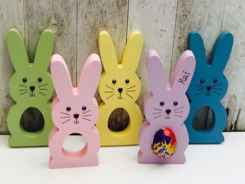 favours party bag Personalised Easter Egg  Bunny Gift Creme egg holder