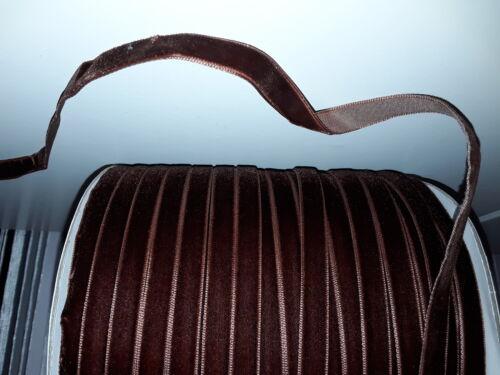 10mm VELVET RIBBON BUY 2 GET 1 FREE 1M 2M 5M velveteen gr8 for chocker necklace
