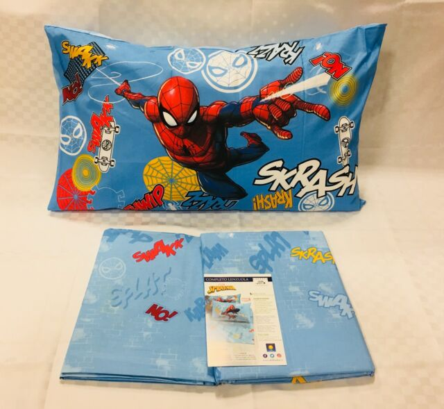 Copripiumino Spiderman Una Piazza E Mezza.Caleffi Marvel Spider Man Wall Trapunta Una Piazza E Mezzo