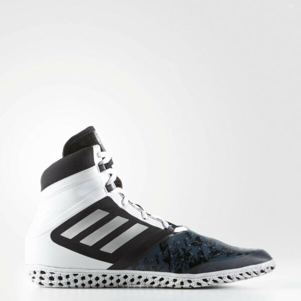 new concept 110ca 0827c Adidas Flying Impact Wrestling Boots Mens Lightweight Lace Up Hi Top Shoes  Black