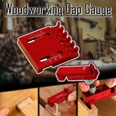 Woodworking Gaps Gauge Depth Measuring Ruler Line Sawtooth Ruler Marking Tool A.