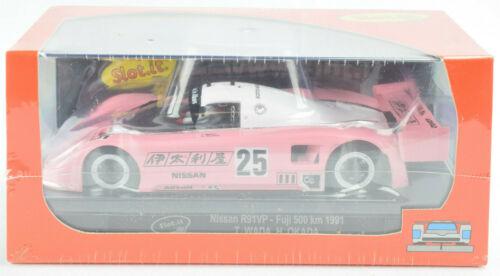 "Slot It /""JSPC/"" Nissan R91VP 1991 Fuji 500km 1//32 Scale Slot Car CA28G"