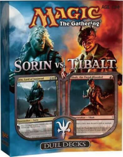 Magic the Gathering MTG - Sorin vs Tibalt Factory Sealed Duel Deck