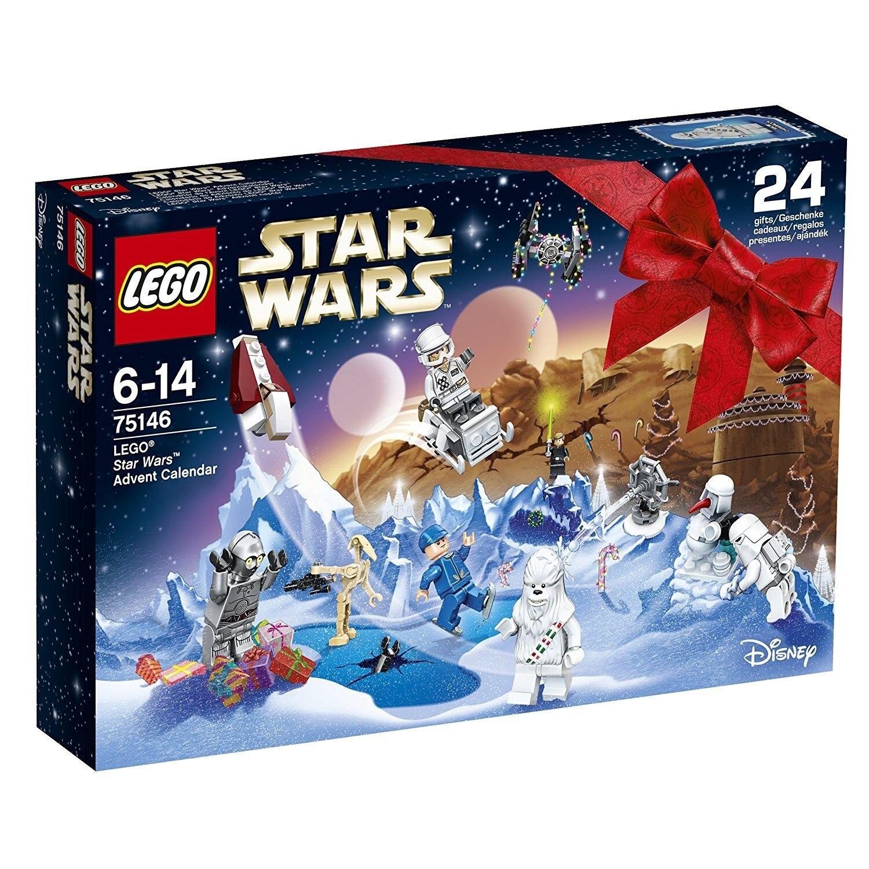 LEGO STAR WARS   75146 XMAS ADVENT CALENDAR   8 MINIFIGURES   BNIB NEW SEALED✔