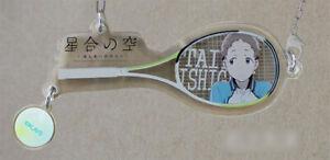 8bit-Hoshiai-Nessun-Sora-Toji-Chara-Racket-Acrilico-Portachiavi-Taiyo-Ishigami