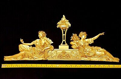 DECORATIVE MOULDING ANTIQUE EMPIRE GOLD GILT OR WHITE RESIN WALL DECORATION