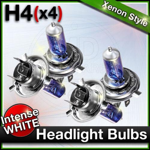 KUBISTAR Car Headlight Halogen Bulbs MAIN /& DIP H4 472 fits NISSAN CUBE JUKE