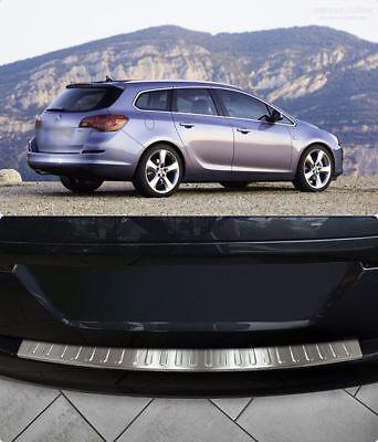 2009-2015 Chrome Rear Bumper Protector Guard Fits Astra Estate J MK6