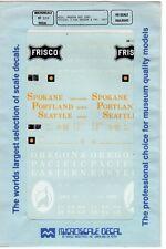 Misc. Modern Box Cars Frisco; S.P&S Oregon & Pac. East 87-328