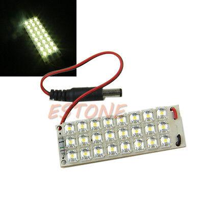 Bright 12V 130mA Light 24-LED 5mm Piranha LED Panel Board Lamp Warm white New