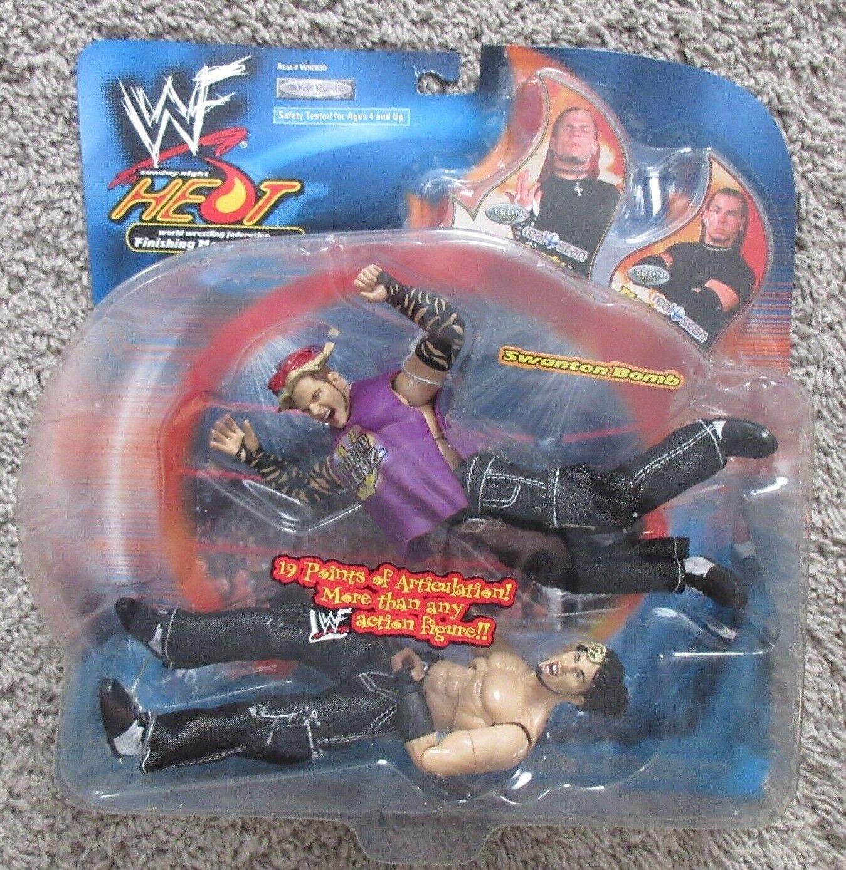 JAKKS WWE Hardy Boys movimientos finales Figura Nueva WWF raro conjunto Boyz Matt Jeff