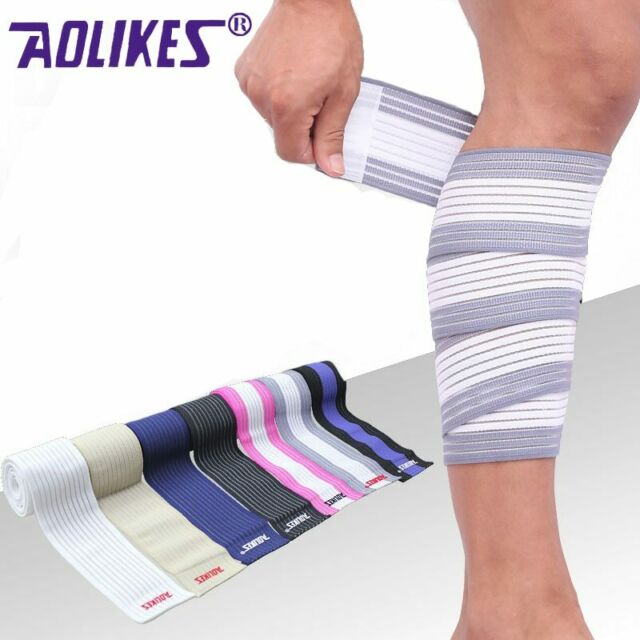 Afinder Elastic Wrap Around Calf Splint Support Tape Bandage