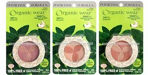 PHYSICIANS-FORMULA-Organic-Wear-BLUSH-100-Natural-Origin-YOU-CHOOSE-Carded