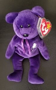 Authenticated RARE 1997 Ty Beanie Baby 2nd Edition Princess Diana ... 40c83f77dbd