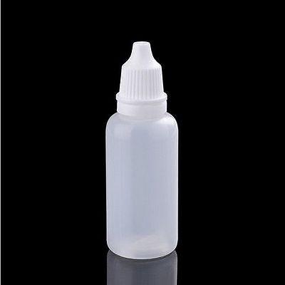 Plastikware 5-100ml leere Plastik Dropper Squeezable Flaschen Liquid Pipette