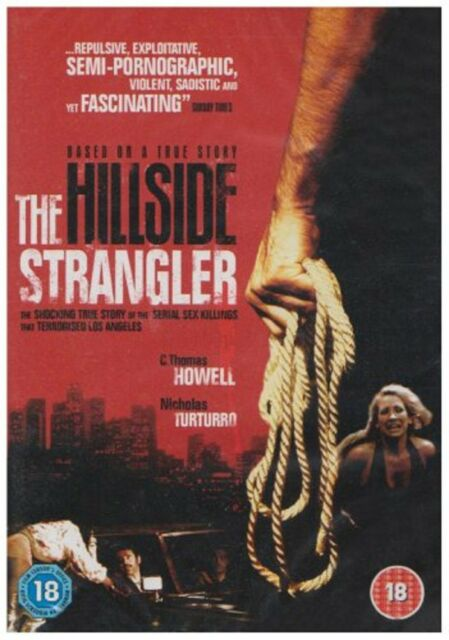 The Hillside Strangler DVD Chuck Parellos C Thomas Howell New and Sealed UK Rel.