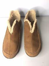 Sz 9 /& 10 NEW Sorel Manawan II Men/'s Slippers Buffalo//Delta Brown Suede Fleece