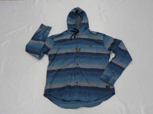 Billabong Mayday Gris Naturel Bleu Marine Pull à Capuche Sweat Shirt Large